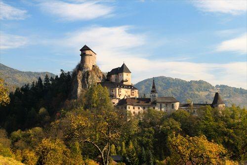 Slovakia Oravský hrad - Orava castle