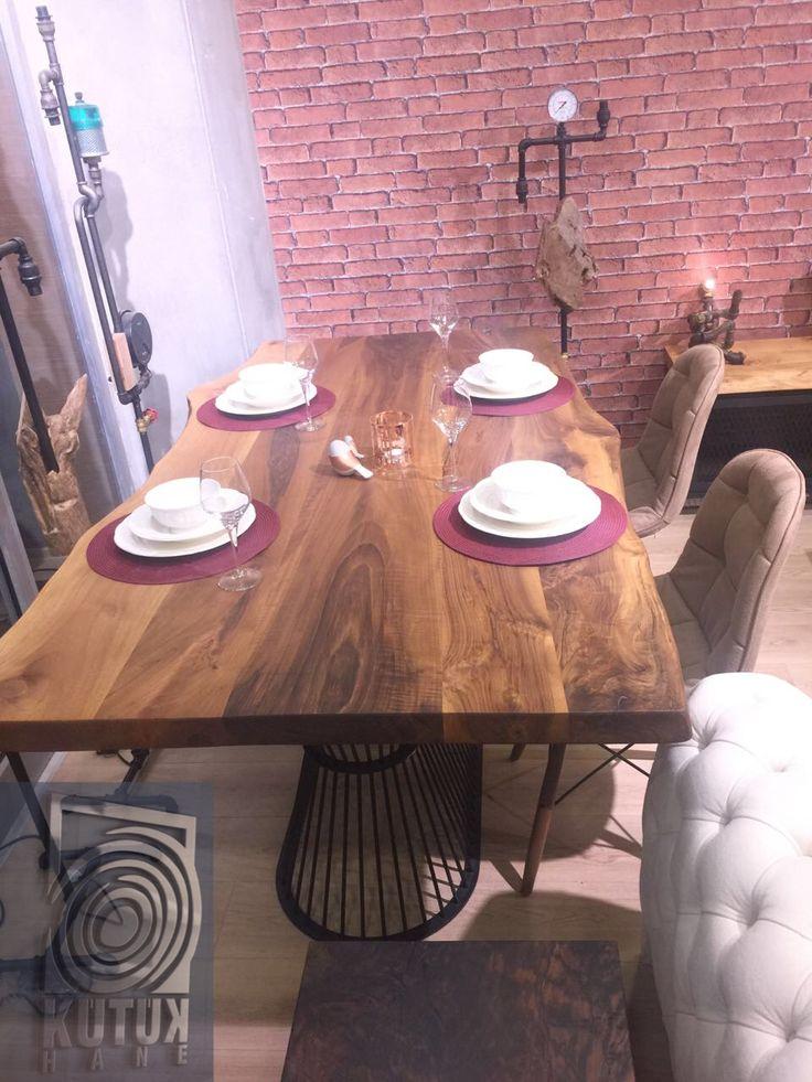 9 best Kütük Masa images on Pinterest | Diner table, Dining room and ...