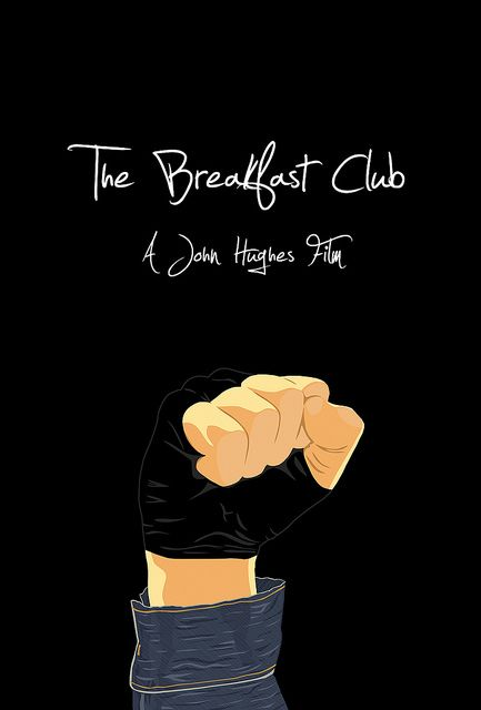 The Breakfast Club (1985) – the fist raised high ending scene….. thank you Joh…