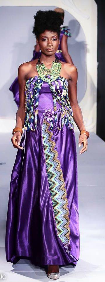 FESMMA BENIN 2017- Nodena Styliste Modeliste - Cameroon.  Crédit photos: Marc Arthur Kidjo