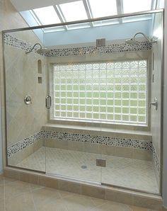 Best 25 Glass Block Shower Ideas On Pinterest Bathroom