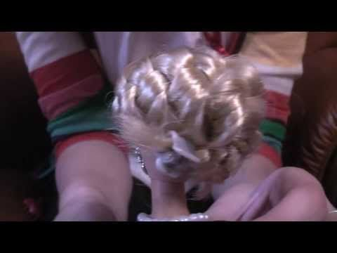 Barbie hairstyle tutorials - With Sam and Mickey - YouTube