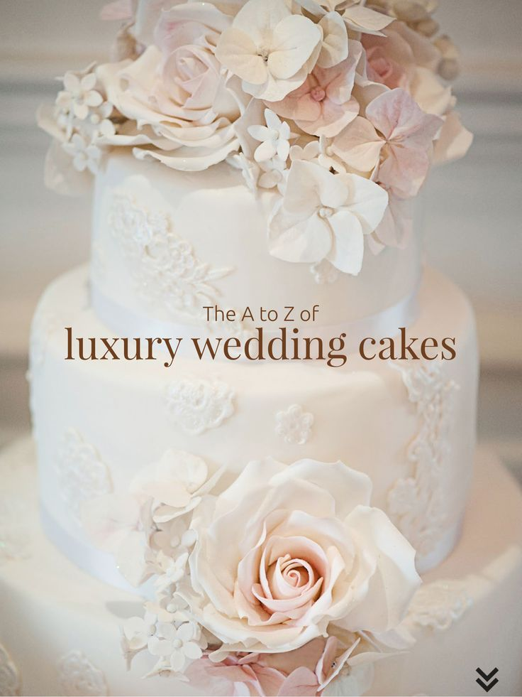 The A to Z of luxury wedding cakes. Download for free on your iPad or Android tablet/phone!