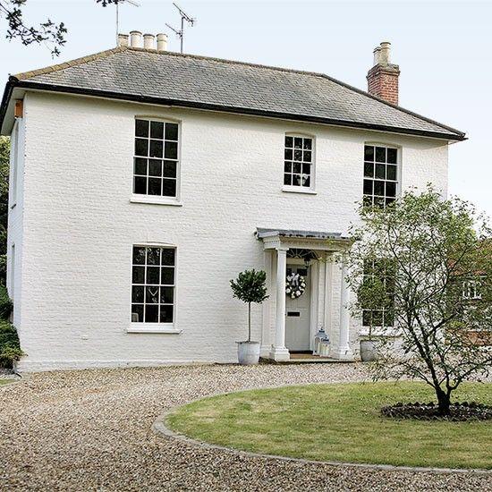 The 25 Best White Exterior Houses Ideas On Pinterest White