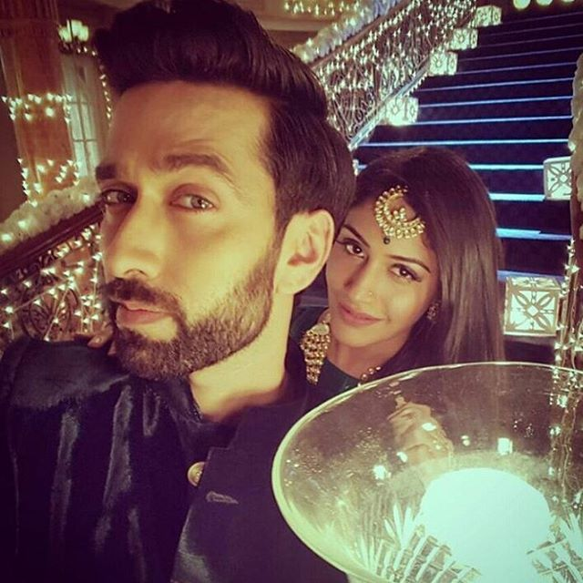 Mr n Mrs shivaay Singh oberoi @officialsurbhic @nakuulmehta both r just awsome #ishqbaaaz