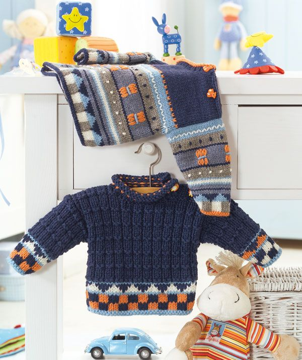 Knitting Pattern Baby Boy Jumper : 265 best images about Knitting-boys on Pinterest Baby knitting, Free knitti...