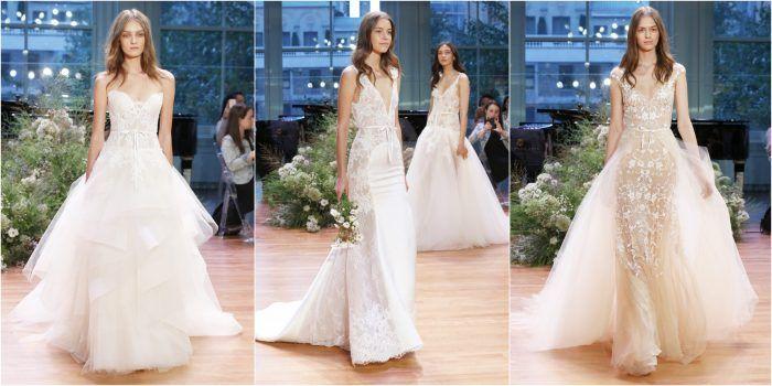 Vestidos de Noiva /  Bridal Fashion Week Outono Inverno 2017  Wedding Dresses Bridal Fashion Week Fall 2017 /  Monique Lhuillier