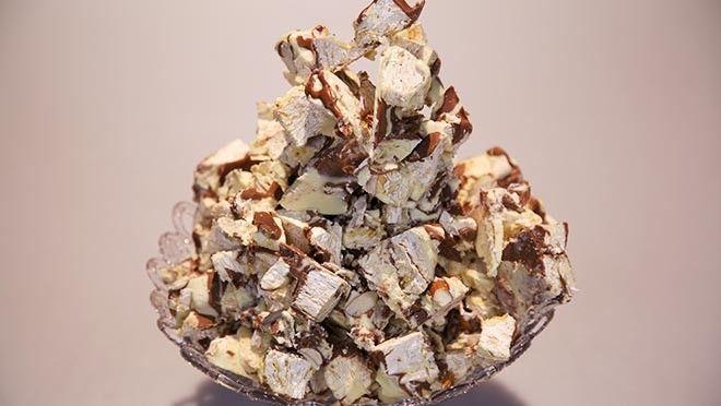 Nougat-chocoladebrokken - recept | 24Kitchen