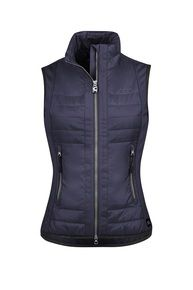 Toggi Esher Ladies Diamond Quilted Gilet - Chocolate Marked  New Authentic