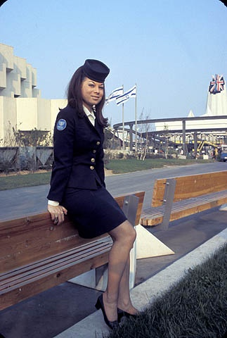 Hostess of the Israel Pavilion at Expo 67.