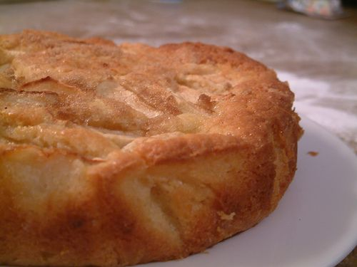 Omenakakku by wjharrison, Finnish apple cake. This recipe is really easy.