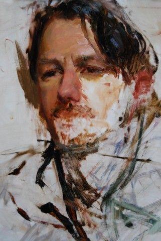 Alla Prima portrait. Contemplate using similar color palette. Study.