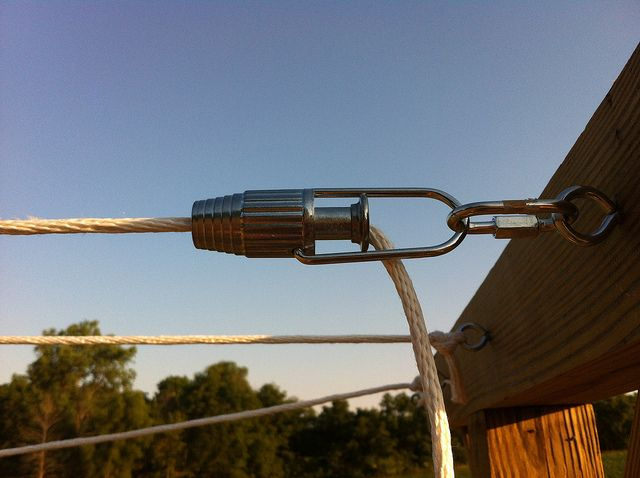Clothesline Tightener, Great For Tent And Tarp Lines So Many Useages