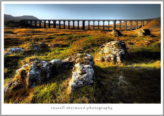 Ribblehead Viaduct, N. Yorkshire, England
