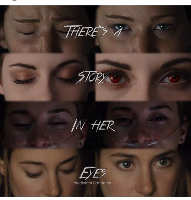 The depressing thing is that Hazel and Tris are the same person but Hazel looks so happy and free but Tris is so serious and unhappy. I feel like this shows you that Tris ends up dying and Hazel lives, even tho Gus dies (*tear*)<<< shit yeahhhhh