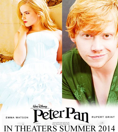 WHAT??: Peter O'Toole, Emma Watson, Harrypotter, Movies, Peterpan, Harry Potter, Disney, Peter Pan