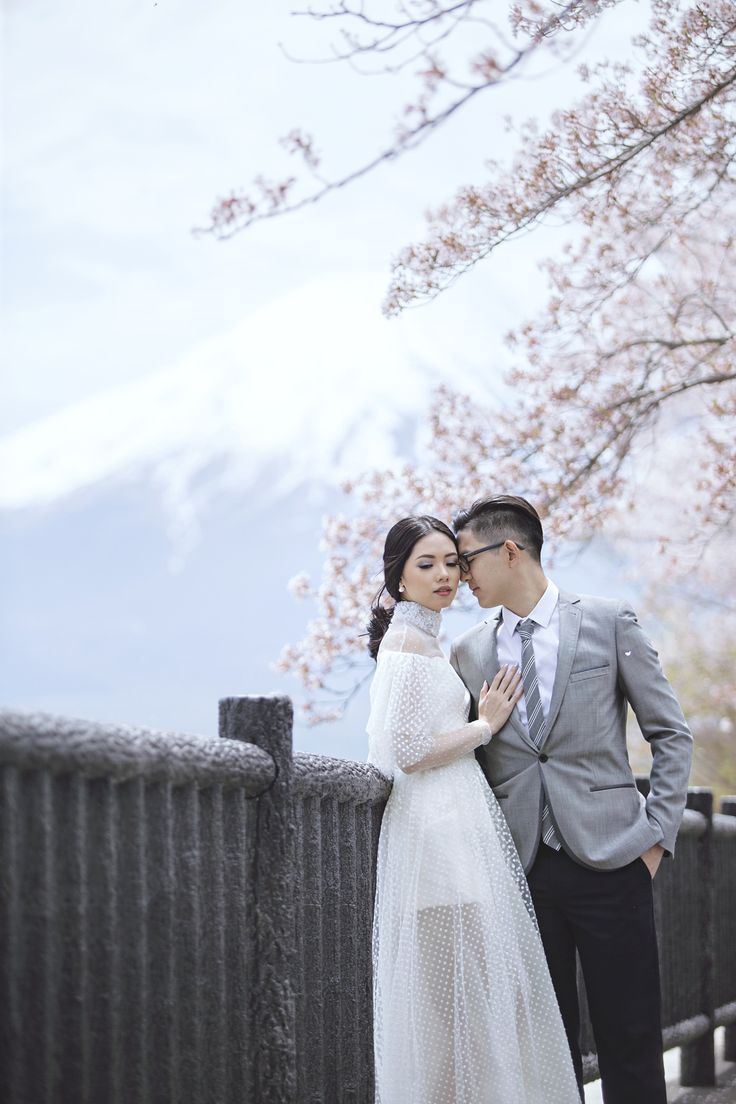 Olivia Lazuardy And Kalvin's Pre-Wedding Shoot In Japan - 013
