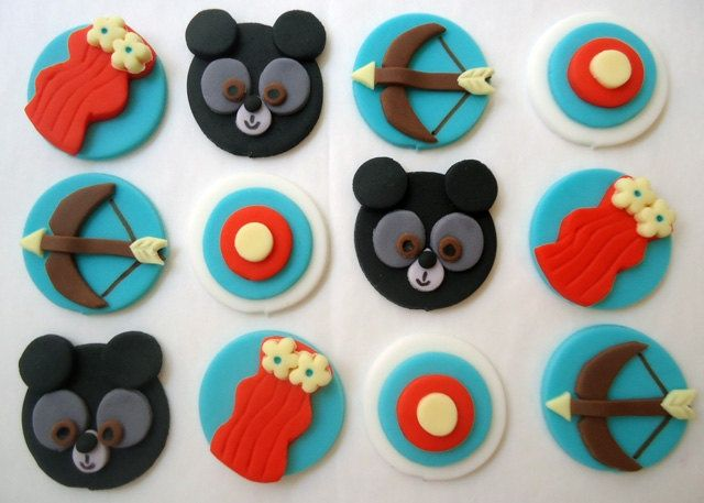 brave party ideas merida   Brave Party: Cupcake toppers FOR IDEAS   Merida Party Eleena's 3rd ...