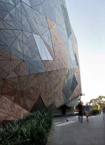 Federation Square - Melbourne; VIC LAB Architecture