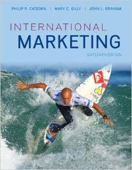 Libro Marketing Internacional Philip Cateora Pdf