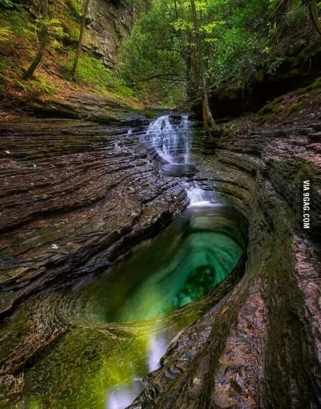 Devil's Bathtub Southwest Virginia                                                                                                                                                                                 More