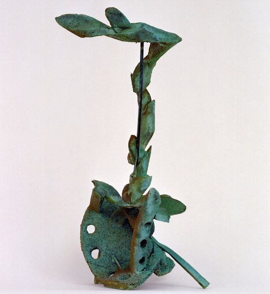 Becoming by Andrew Rogers, 1999. Silicon Bronze.