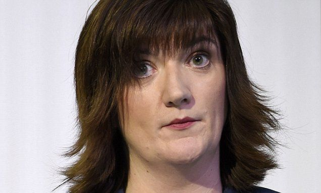 Tory MP Nicky Morgan threatens to rebel against PM