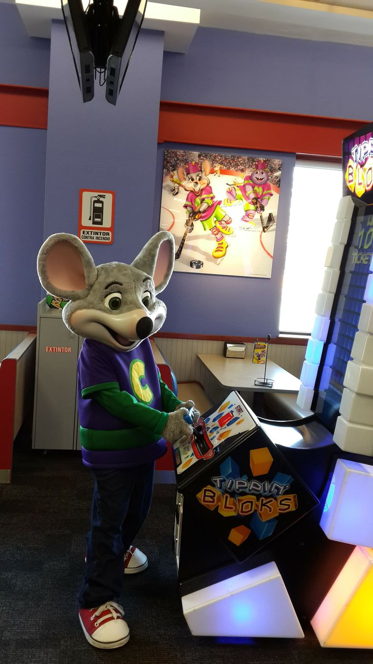 Be Your Kids' Hero. The family that plays together loves Chuck E. Cheese's. Treat your kids to an amazing, fun-filled day with Chuck E., and play along with tons of great games for all ages.