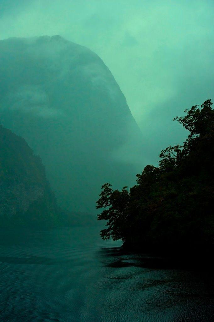 .: Forests, Moodboard Bluegreen, Mists, Beautifulplac Mysteriousspac, Blue Green, Rivers T-Shirt, Will, Landscape, Green Lights