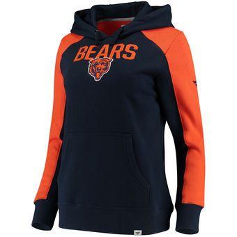 528c1fd7 Women's Chicago Bears NFL Pro Line by Fanatics Branded Navy/Orange ...