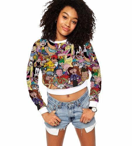 Cool Fashion Pokémon Printed Hoodie for Women available right now at PokemonsGoo.com!