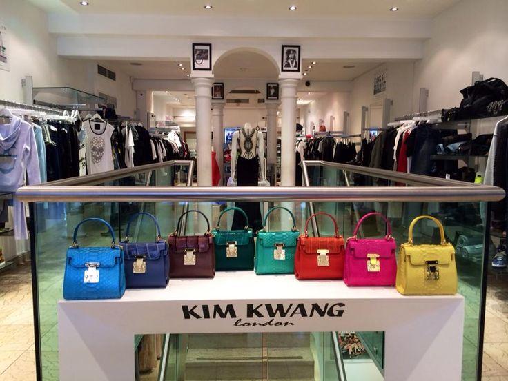 KIM KWANG Handbags AW15   Available at Boudi 98 New Bond Street, London.