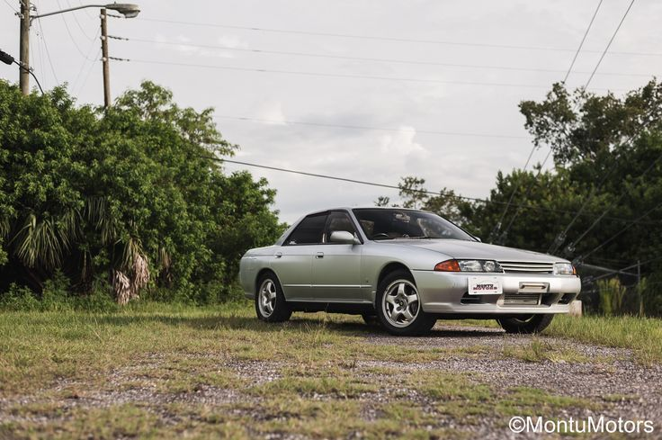 FOR SALE: 1991 NISSAN SKYLINE GTS-4 #MontuMotors   2.3l Stroker motor | RB25DET Turbo | FMIC | Coupe Taillight Conversion | R32 GTR hood | Aftermarket Bumper | 123,010 km or 76,435 miles | Factory Service Manual Included   Based on the hugely popular R32 GT-R, this GTS-4 offers a lot of performance for a more budget friendly price. Utilizing the RB20DET inline-6 stroked to a 2.3L, a 5-speed manual gearbox and AWD drivetrain.  Visit our website for more details. Financing options available…