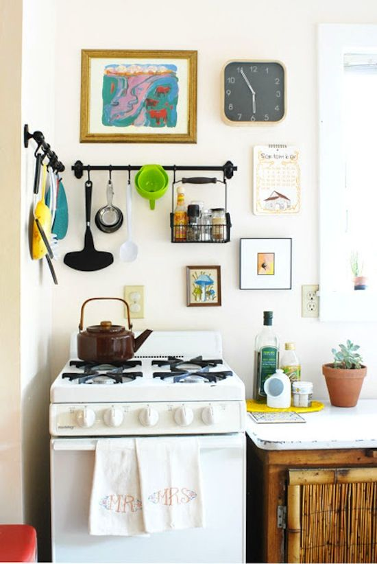 S-Hooks for Cooking Utensils // 14 ways to Organize with S-Hooks // simplyspaced.com