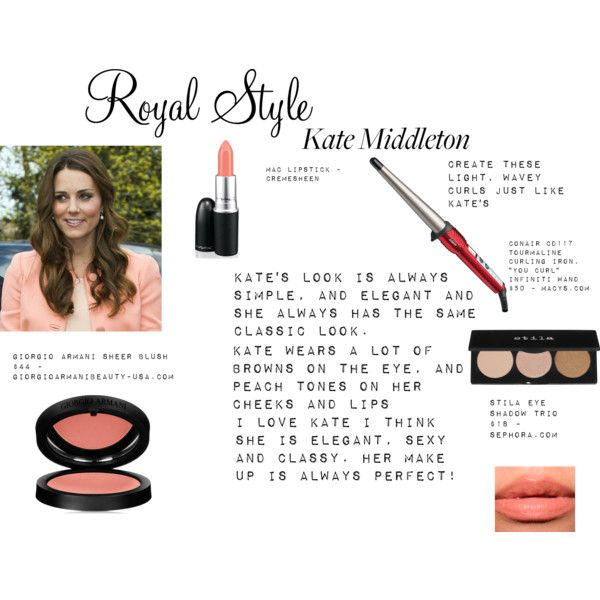 """""""Kate's Make Up ..."""" by thewhiteboard on Polyvore"""