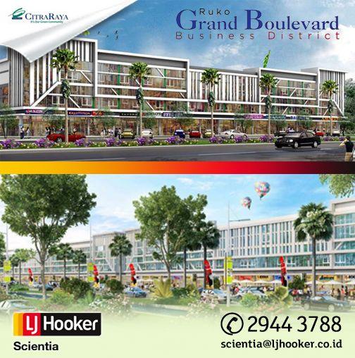 RUKO Grand Boulevard @ Citra Raya