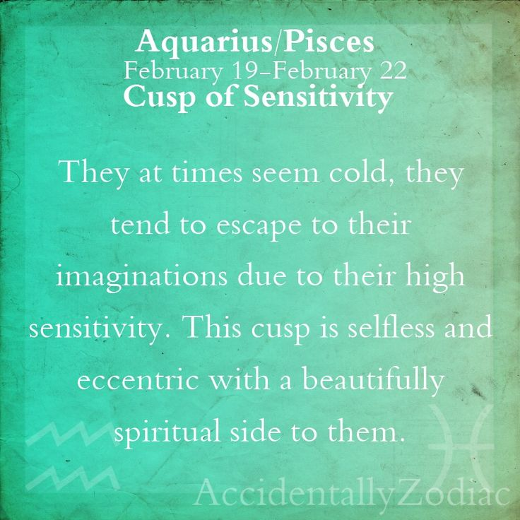 Aquarius/Pisces Cusp Part 2