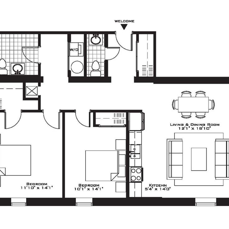 Apartment Rentals With Floor Plans