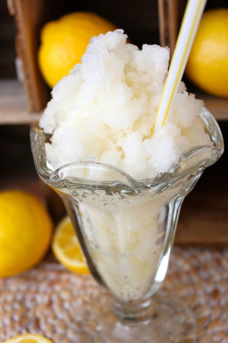 Lemonade Slushy for the Dessert Bullet