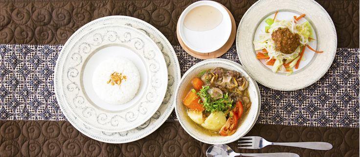 コラーゲンたっぷり!インドネシアのスタミナ料理「ソプ・ブントゥット」は、じっくりことこと煮込むご褒美スープ♪【人気COOKのレシピ】