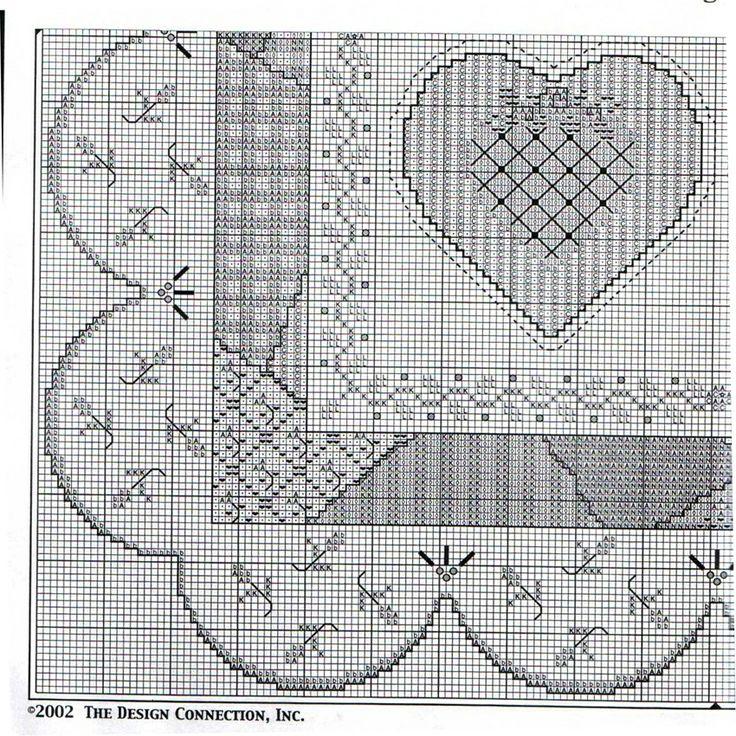 DESIGN CONNECTION patchwork heart quilt sampler