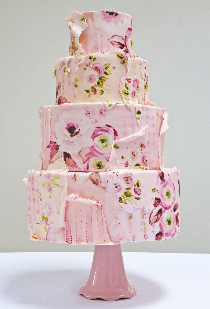217 best Wedding Cakes images on Pinterest   Cake wedding ...