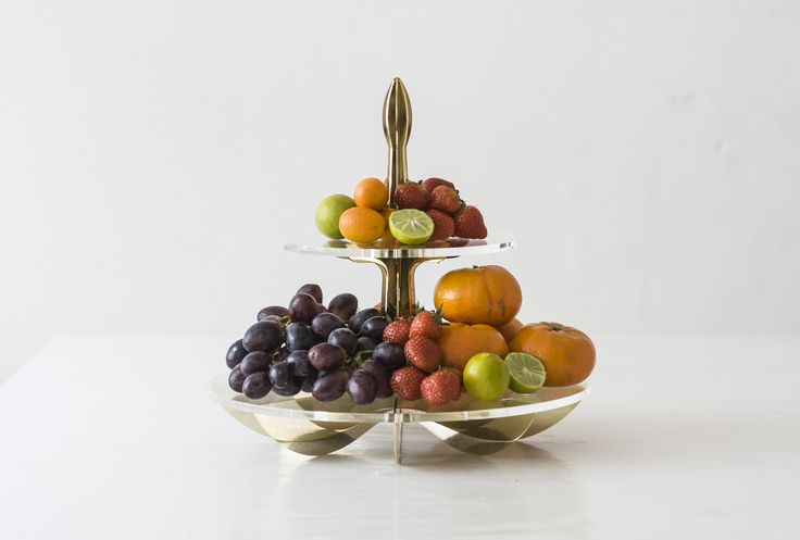 Lily cake stand is perfect for your fruits also.