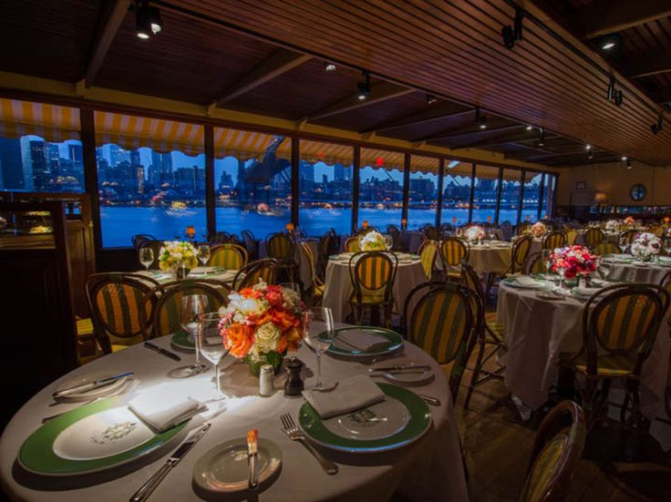 The romantic vibe begins before you even get inside this Brooklyn restaurant: The walkway leading to the front door is lit by lanterns and passes by the on-site greenhouse that keeps the restaurant brimming with fresh flowers. But to really impress your date, score a table with a view—the restaurant offers breathtaking vistas of the Manhattan skyline and the Brooklyn Bridge. That view has been drawing diners for decades, but the prix fixe menu is no slouch either, focusing on New American…