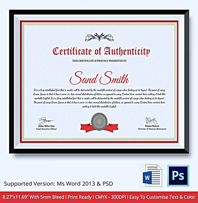 149 best certificate template images on Pinterest Certificate - certificate template for microsoft word