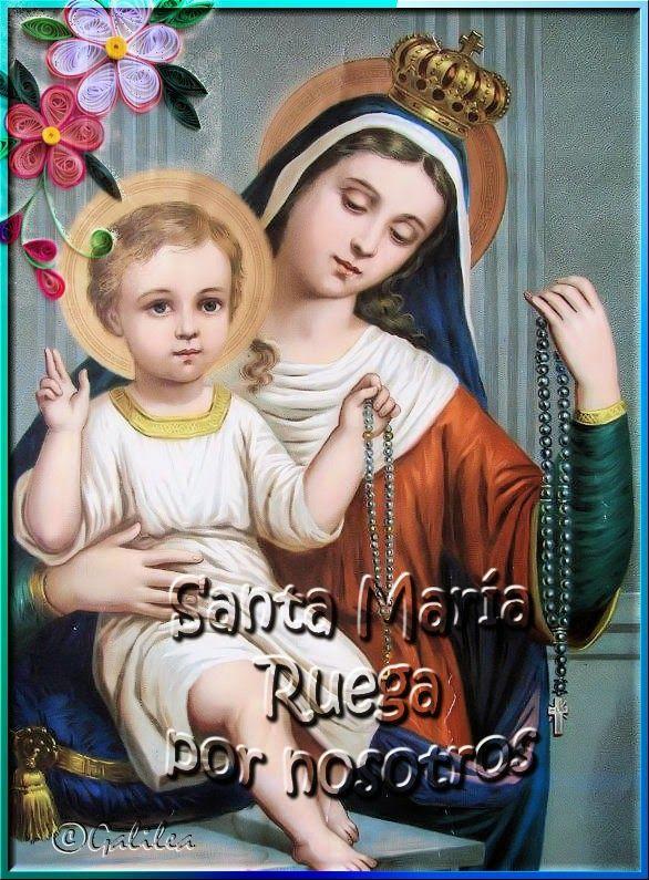Santa María, Madre de Dios y Madre nuestra: Santo Rosario