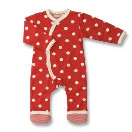 Babystrampler aus Bio-Baumwolle im Polka-Dots Design :-) #Bestseller :-)