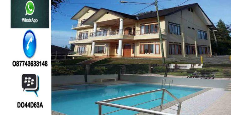 sewa villa di lembang - villa valencia private pool murah