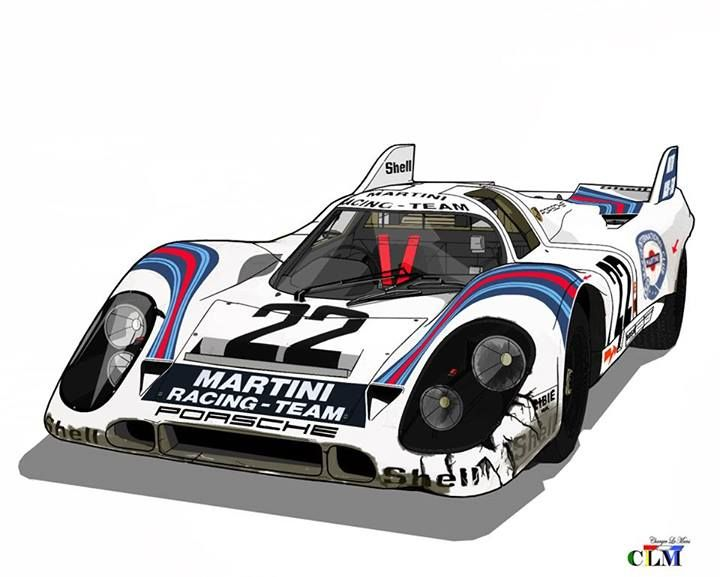 porsche 917k martini international racing team 917 053. Black Bedroom Furniture Sets. Home Design Ideas
