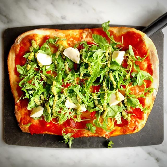 #Calabrese #Pizza @pizzaexpress_uk @pizzaexpress #pizzaexpress  made with #Spicy #CalabreseSausage  spicy hot soft #nduja #sausage  fresh #RedChillies  fiery #RoquitoPeppers  #chargrilled red & yellow #peppers  light #mozzarella  #rocket  #pesto  #oregano  #GranMilanoCheese taken at #Ramsgate branch England UK  #food #gourmet #foodie #foodporn #foodstagram #foodiegram #foodphotography #foodgasm #instafood #foodlove #theartofplating  shot with Apple #iPhone6  #nofilter  Thank you for…